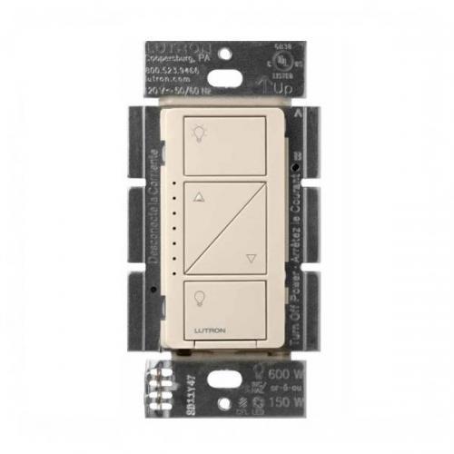 Lutron Pd 6wcl La Wireless In Wall Dimmer Light Almond