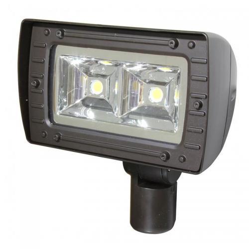 maxlite 7668 afc80u641klbss led flood light fixture. Black Bedroom Furniture Sets. Home Design Ideas