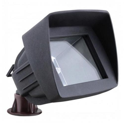 Orbit Industries - 6011-BK - Black Cast Aluminum Rectangle Landscape Flood Light