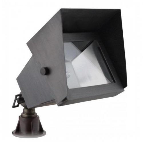 Orbit Industries - B310-ARB - Architectural Bronze Solid Brass Rectangle Landscape Spot Light