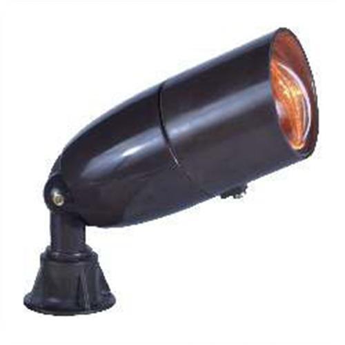 Orbit industries fg1071 bronze fiberglass hooded bullet for Bullet landscape lights