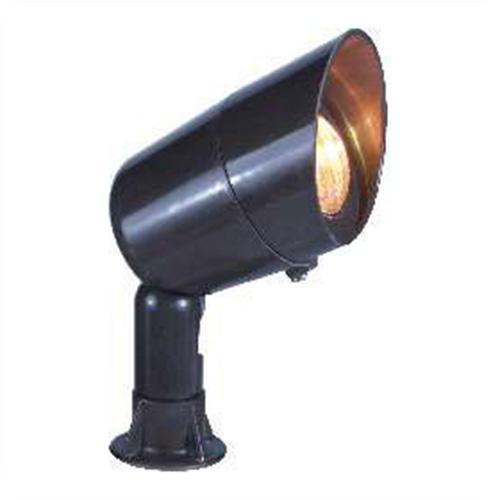Orbit industries fg126 bronze fiberglass hooded bullet for Bullet landscape lights