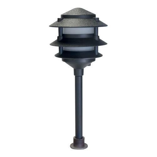 orbit industries l2030 bk f ww led pagoda light black 2 watts 12v