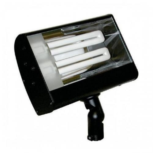 Orbit Industries - S626-WH - White Aluminum Compact Fluorescent Wide Flood Light Fixture
