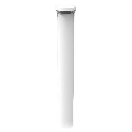 Rab Lighting Led Bollard: RAB Lighting BLEDR24NW Round LED Bollard Fixture 24 Watt