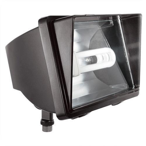 Rab Led Space Light: RAB Lighting FF42QT LED Bronze Fluorescent Flood Light 42