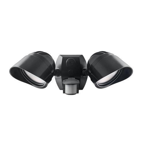 Rab Motion Security Light: RAB Lighitng SMSBULLET2X12NA LED Bullet Flood Kit 24 Watts