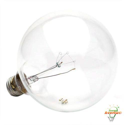 Sylvania 14685 25g40 120v Incandescent Clear Globe Light