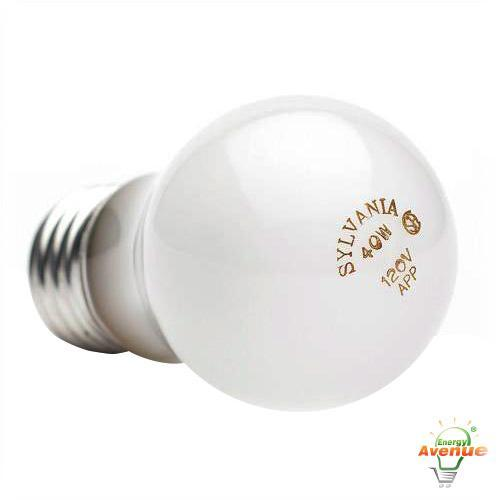 sylvania 40a15 120v a15 frosted appliance light bulb 40 - A15 Bulb