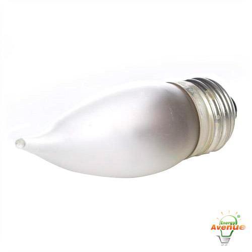 Sylvania 13322 40 Watt B10 120v Decor Frosted Light Bulb 2 Pack Energy Avenue