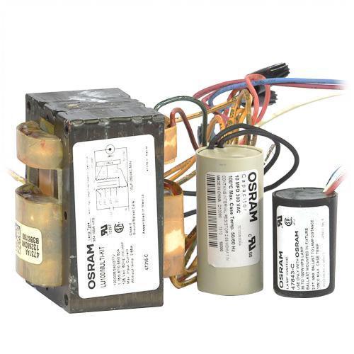 advance 71a8007 001db hps ballast 100 watt 120v sylvania 47316 lu100 multi kit magnetic hps ballast kit