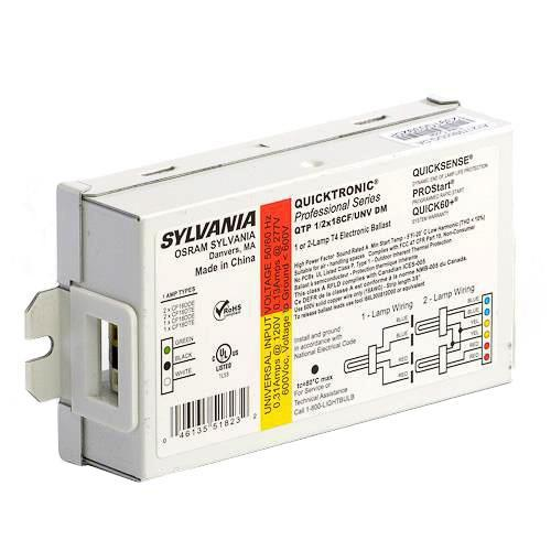 Fluorescent Light Delayed Start: Sylvania 51823 QTP 1/2X18CF/UNV DM Electronic CFL Ballast