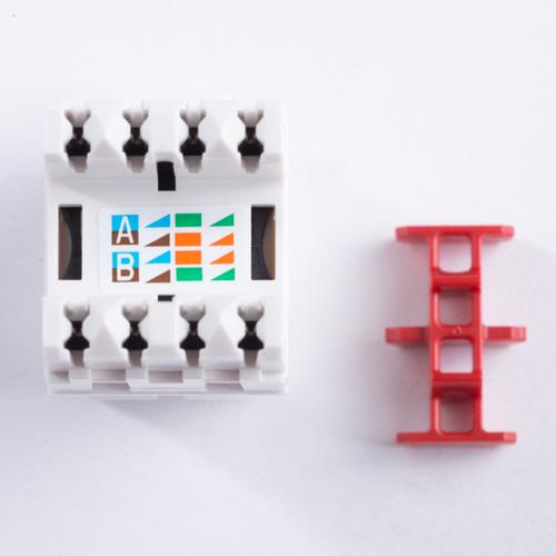 [DIAGRAM_38ZD]  Belden - AX101320 - Modular Jack - KeyConnect - CAT6 - RJ45 - White |  Energy Avenue | Belden Cat 6 Jack Wiring |  | Energy Avenue