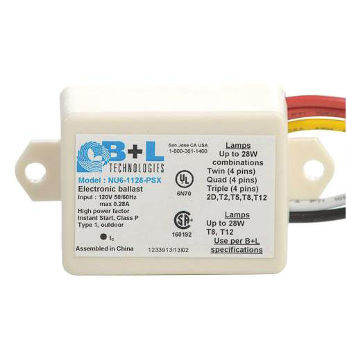 B L Technologies 47152 Nu61128psx Mini Fluorescent Ballast Instant Start 120vac Energy Avenue