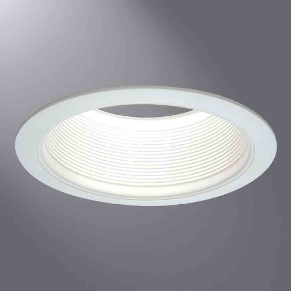 Cooper Lighting 6100WB Baffle with Trim Halo 6 Inch White