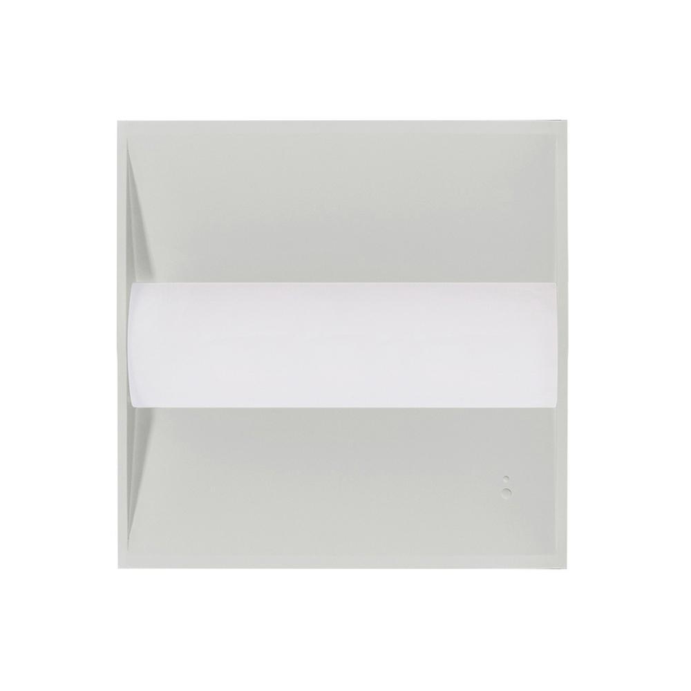 Euri lighting etf22 2040s 2 2x2 24w led troffer 4000k sold in p