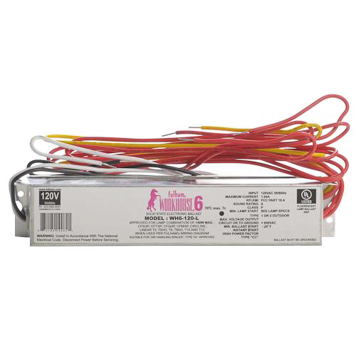 fulham wh6 120 l fulham electronic fluorescent ballast instant startnew fulham wh6 120 l fulham electronic fluorescent ballast