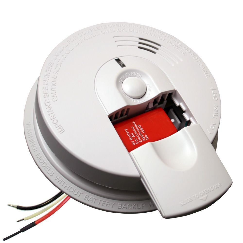 Kidde 21007581 I4618 Hardwired Inter Connectable Smoke Alarm