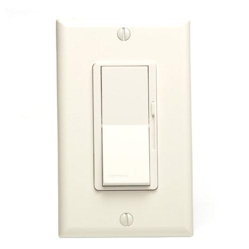 White New Lutron Diva DV-603P-WH 600-Watt 3-Way Dimmer