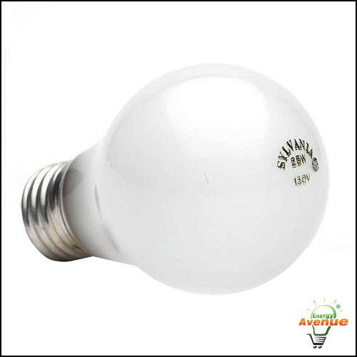 Frosted Light Bulbs >> Sylvania 10645 25a 130v Incandescent Frosted A19 Light Bulb