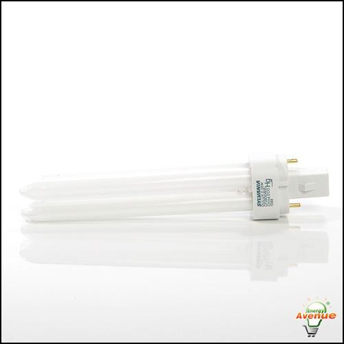 Lot of 2 SYLVANIA DULUX D 26 Watt CFL Lamps CF26DD//835//ECO 2 Pin G24d-3 Base