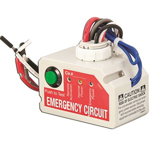 Emergency Lighting Control Unit