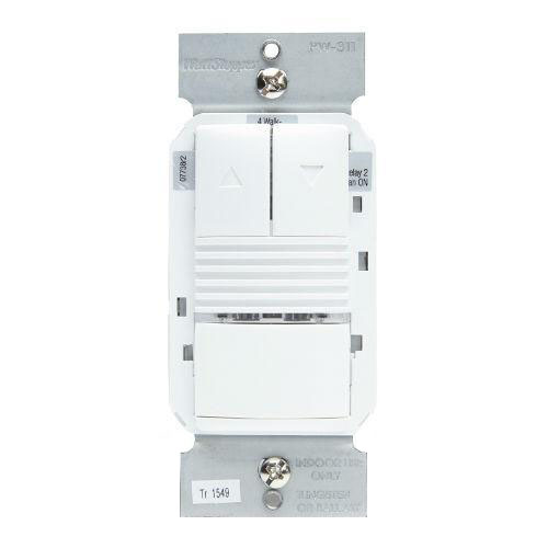 WattStopper - PW-311-W Pive Infrared 0-10 Volt Dimming Wall Switch on
