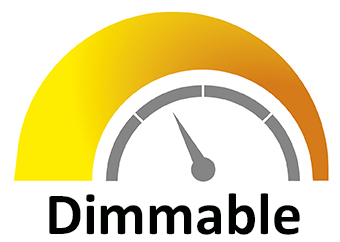 Dimmable: Dimmable to 5% (120V only)