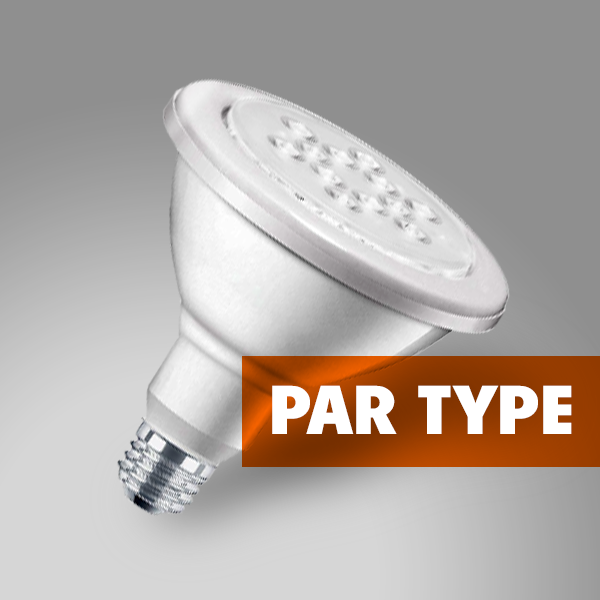 par type light bulbs