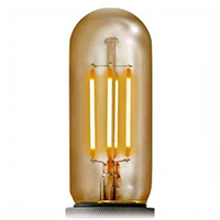 Tubular LED Filament Light Bulbs