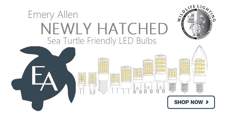 Emery Allen Artificial LED Lighting - Amber Color - Turtle Bulb