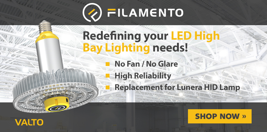 Filamento - Redefining your LED High Bay Lighting with the Valto Series