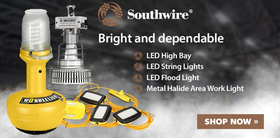Shop Southwire ProBuilt LED High Bay, LED String Lights, LED Flood Light, and Metal HAlide Area Work Light