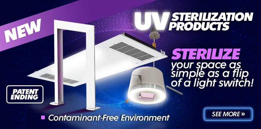 UV Sterilization for sale at EnergyAvenue.com!