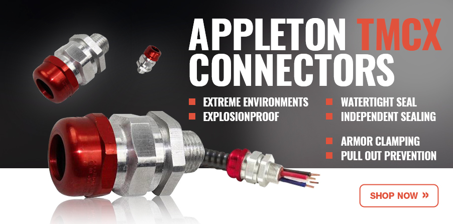 Appleton TMCX Connectors - Explosionproof for sale at EnergyAvenue.com!