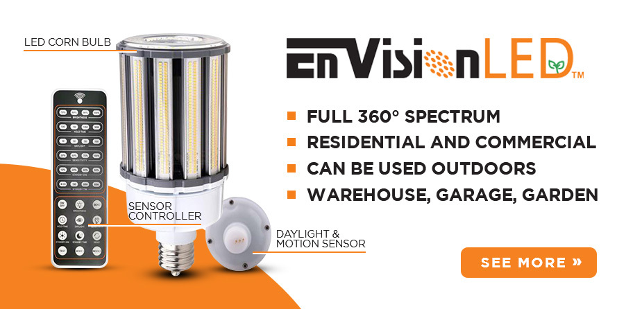 Envision LED Corn Lamps and Accessories for sale at EnergyAvenue.com!